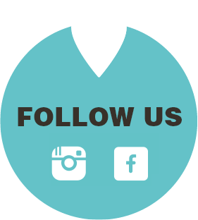 Follow us on facebook or instagram